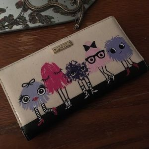 Imagination Monster Party Wallet